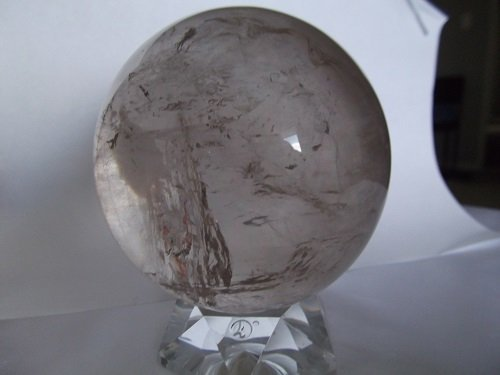 Smokey Quartz Sphere stand